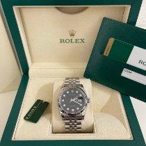 Rolex Datejust Acciaio 36mm Nero Italia, GROSSETO