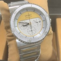 Seiko Spirit Steel White No numerals