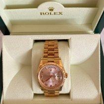 Rolex Day-Date 36 Roségoud 36mm Roze Nederland, Loenen aan de Vecht