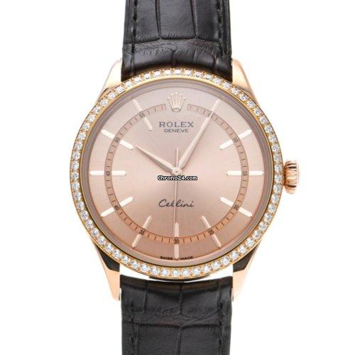 Rolex Cellini Time 50705RBR 2015 подержанные