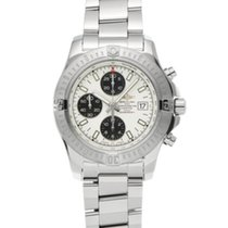 Breitling Colt Chronograph Automatic pre-owned 44mm Silver Steel