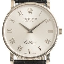 Rolex Cellini White gold 32mm Silver