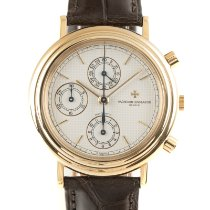 Vacheron Constantin Yellow gold Automatic White 38mm pre-owned Historiques
