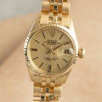 Rolex Oyster Perpetual Lady Date Gelbgold 25mm Gold Deutschland, Chemnitz
