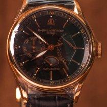 Baume & Mercier William Baume Rose gold 39mm Black