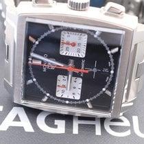 TAG Heuer Monaco neu 2020 Automatik Chronograph Uhr mit Original-Box und Original-Papieren CBL2113.BA0644