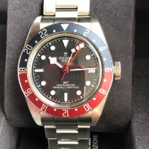 Tudor Black Bay GMT Сталь 41mm Черный Без цифр