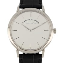 A. Lange & Söhne 211.026 White gold 2019 Saxonia 40mm pre-owned