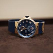 Ulysse Nardin Marine Chronometer Manufacture neu 2014 Automatik Uhr mit Original-Box und Original-Papieren 1186-126-3/43