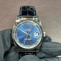 Rolex Datejust Bílé zlato 36mm Modrá Bez čísel Česko, Praha 1