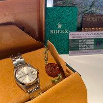 Rolex Oyster Precision Acier 34mm Argent Sans chiffres Belgique, Harelbeke