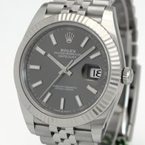Rolex Datejust Acciaio 41mm Grigio Senza numeri Italia, Milano