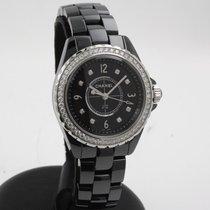 Chanel J12 Ceramic 34mm Black Arabic numerals