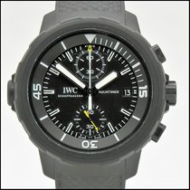 IWC Aquatimer Chronograph Титан 44mm Черный Без цифр