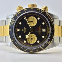Tudor Black Bay Chrono Gold/Steel 41,5mm Black No numerals