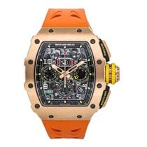 Richard Mille RM 011 Rose gold 44.5mm Arabic numerals United States of America, Pennsylvania, Bala Cynwyd