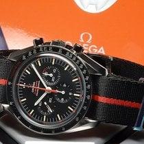 Omega Speedmaster Professional Moonwatch Aço 42mm Preto Sem números