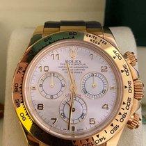 Rolex 116518 Or jaune 2004 Daytona 40mm occasion