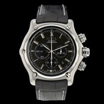 Ebel 1911 BTR pre-owned 44.5mm Black Chronograph Date Tachymeter Steel