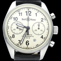 Bell & Ross Vintage Staal 39mm Champagne Arabisch