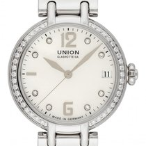 Union Glashütte Sirona Steel 32mm Mother of pearl