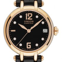 Union Glashütte Sirona Gold/Steel 32mm Black