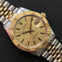 Rolex Datejust Turn-O-Graph Сталь 36mm Золотой Без цифр