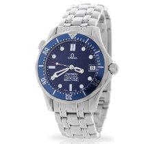 Omega Seamaster Diver 300 M Сталь 36mm Синий Без цифр