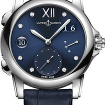 Ulysse Nardin Dual Time 3243-222/393 New Steel 37.5mm Automatic