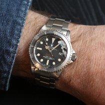 Rolex Sea-Dweller Acier 40mm Noir Sans chiffres France, Paris
