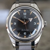 Omega Seamaster Railmaster Steel 38mm Black Arabic numerals United States of America, Massachusetts, Boston