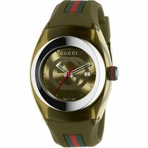 Gucci YA137106 New Plastic 46mm Quartz