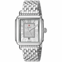 Michele Deco New Steel 33mm Quartz