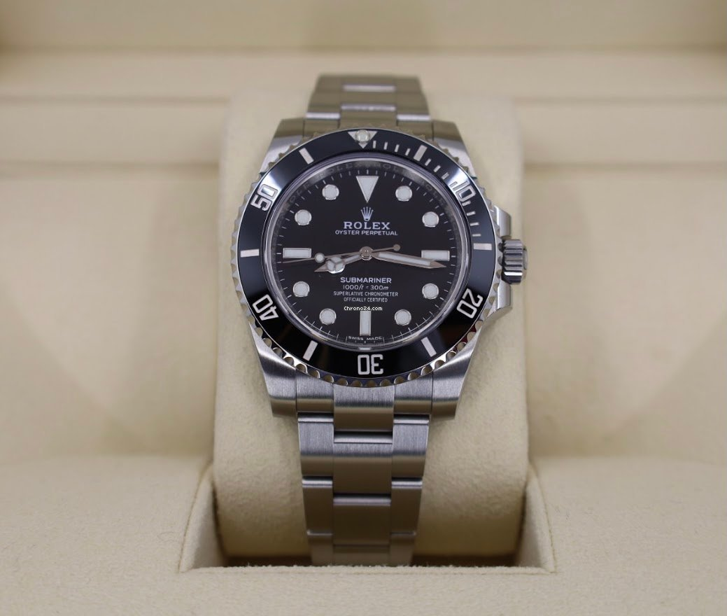 Rolex Submariner (No Date) 114060 2018 new