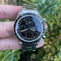 Omega Speedmaster Day Date Steel 40mm Black No numerals United States of America, California, Los Angeles