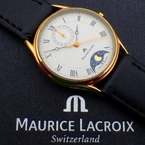 Maurice Lacroix Les Classiques Phases de Lune Gold/Stahl 32mm Weiß Römisch Deutschland, Meißen