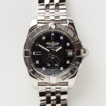 Breitling Women's watch Galactic 36 36mm Automatic pre-owned Watch with original box and original papers
