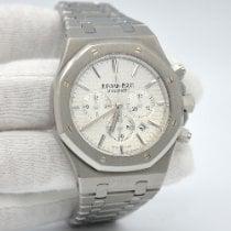 Audemars Piguet Royal Oak Chronograph Steel 41mm Silver No numerals United States of America, New York, New York