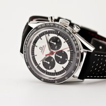 Omega Speedmaster Professional Moonwatch Steel 39.7mm White No numerals United States of America, New Jersey, Oradell