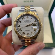 Rolex Datejust Turn-O-Graph Gold/Steel 36mm White United States of America, Florida, MIAMI beach