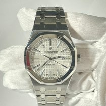 Audemars Piguet Royal Oak Selfwinding Titanium 41mm Silver No numerals United States of America, Florida, Miami