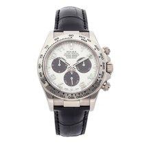 Rolex 116519 Or blanc Daytona 40mm occasion