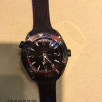 Omega Seamaster Planet Ocean Keramik 45.5mm Svart Arabiska