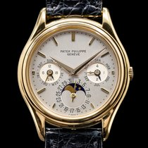 Patek Philippe Yellow gold Automatic 36mm Perpetual Calendar