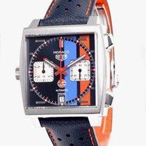 TAG Heuer Monaco Calibre 11 neu Automatik Chronograph Uhr mit Original-Box und Original-Papieren CAW211RFC6401