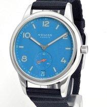 NOMOS Club Automat Datum neu Automatik Uhr mit Original-Box und Original-Papieren 777