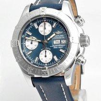 Breitling Superocean Chronograph II Stahl 42mm Blau Deutschland, Teuschnitz