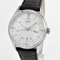 Oris 01755774240510752164FC Steel Artelier Pointer Day Date 40mm new