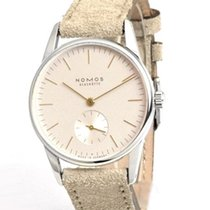 NOMOS 325 Steel 2020 Orion 33 32.8mm new