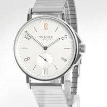 NOMOS Ahoi Datum neu Automatik Uhr mit Original-Box und Original-Papieren 551S2